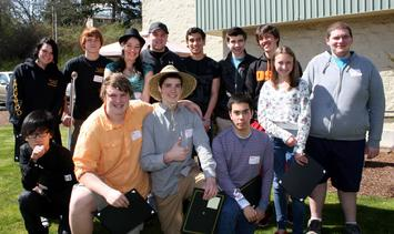 2012 Oregon Teen Workplace Safety PSA Contest Winners.