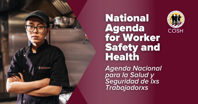 National Agenda for Worker Safety and Health